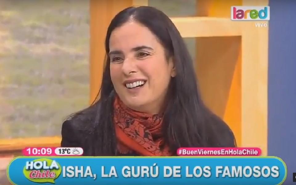 Entrevista a Isha en Hola Chile del canal La Red