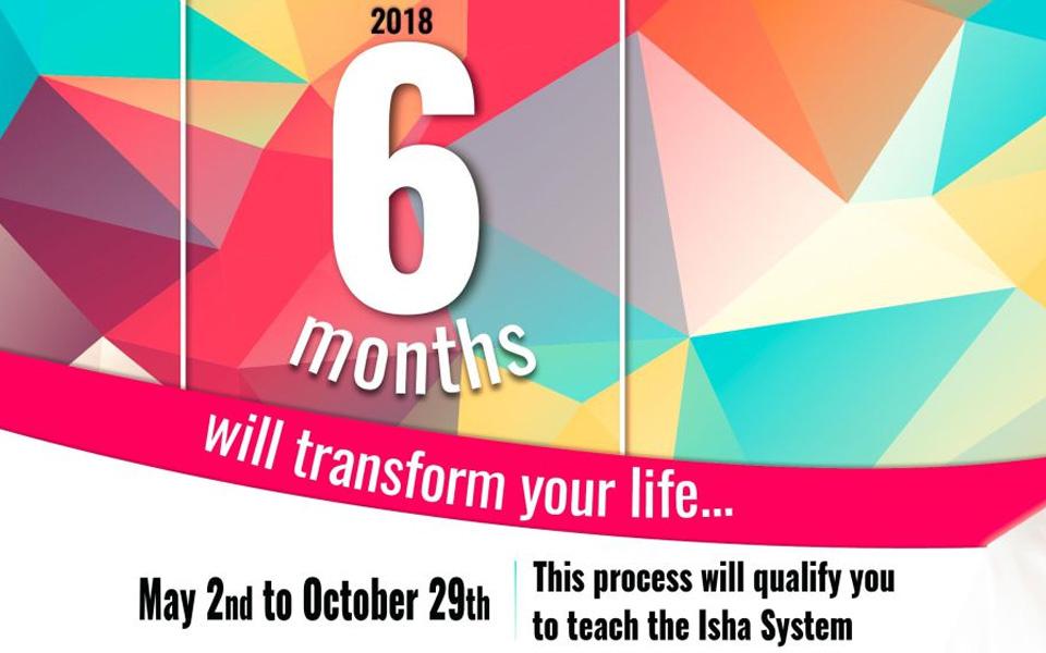 6 Month Program 2018