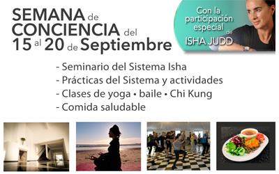 Semana de Conciencia en Centro Isha Uruguay 15-20 Septiembre 2017