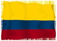 Isha Judd - Bandera Colombia