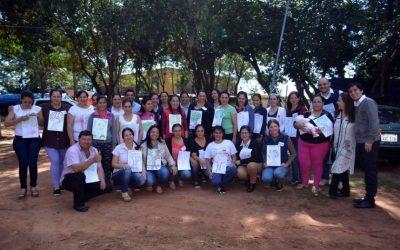 Innovador sistema para educación inicial en Caazapá