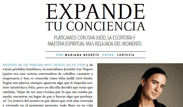 Revista Sky view México: Expande tu conciencia