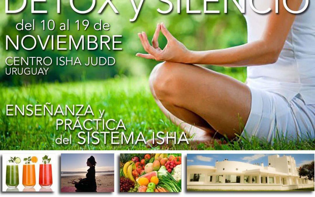 Retiro de Silencio y Limpieza Detox