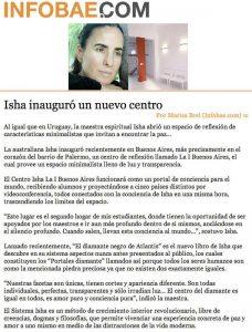Isha Inaguro