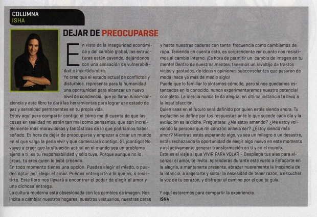 Revista Conozca Más, Chile