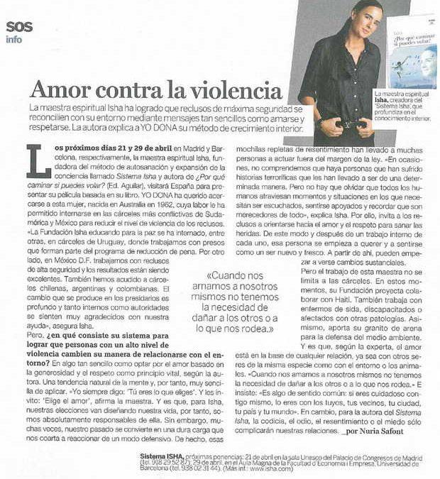 Revista Yo Dona, España