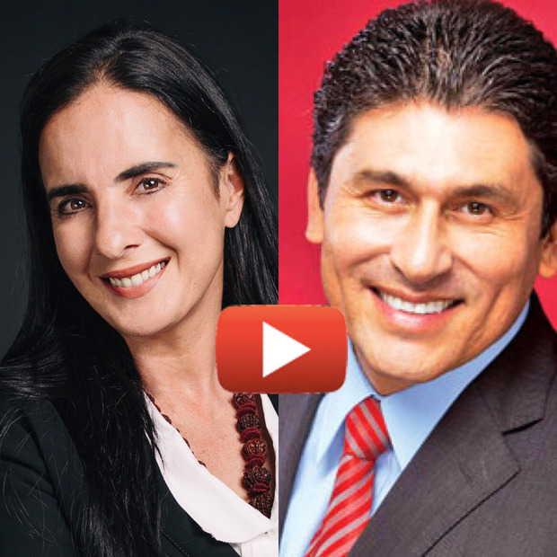 """Entrevista a Isha con el Dr. César Lozano """"Por el Placer de Vivir"""""""