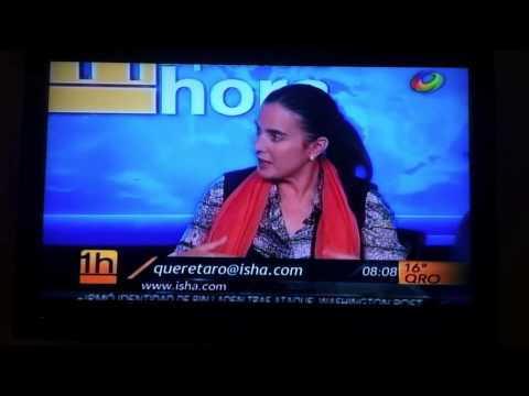 Isha en Televisa Querétaro