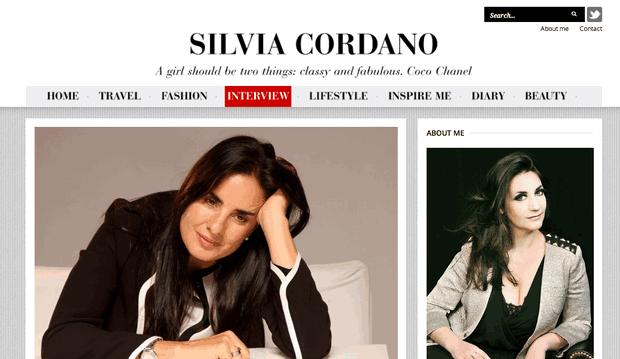 Entrevista en Portal de Silvia Cordano, Argentina