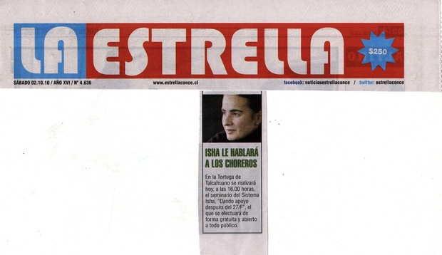 Diario La Estrella, Concepción, Chile