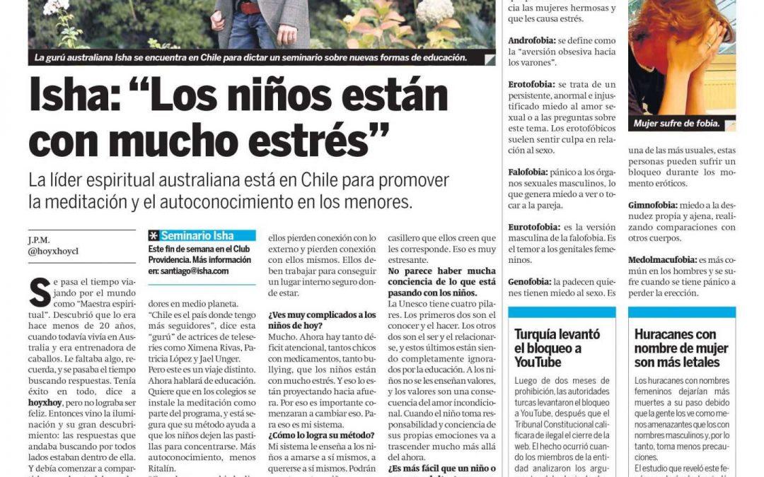Diario Hoy por Hoy, Chile
