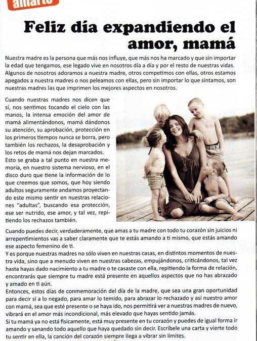 Revista María, Diario La Hora, Chile