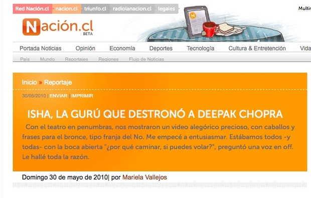 Diario La Nación, Chile