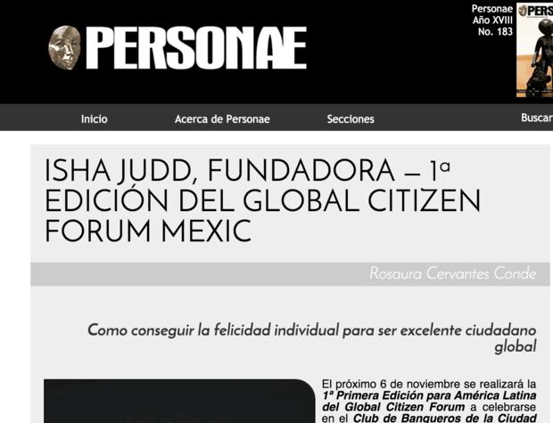 Revista Personae, Veracruz, México
