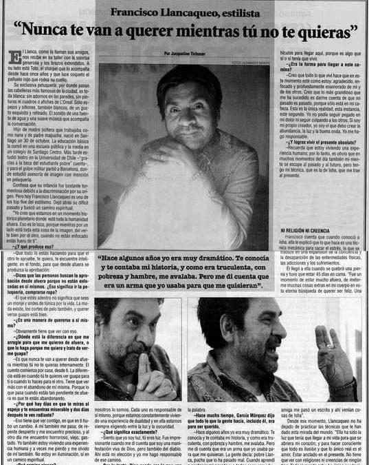 Diario La Nacion, Chile