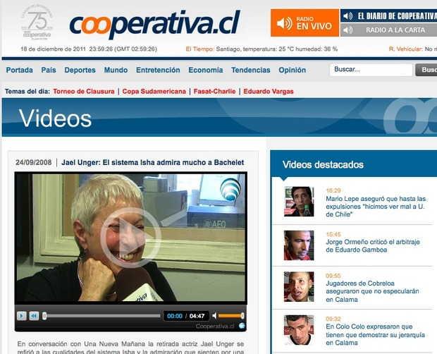 Radio Cooperativa, Chile