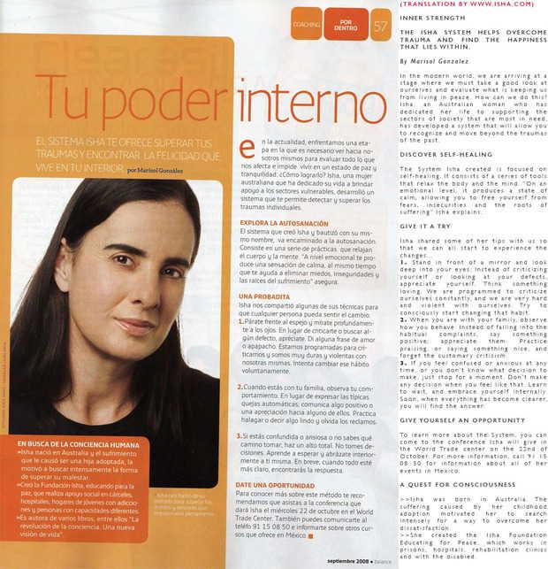 Revista Balance, Mexico