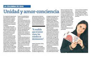 Isha Unidad Amor Conciencia