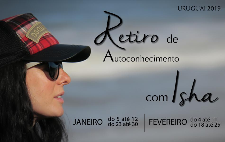 Retiro de verão com Isha Centro Isha Uruguai 2019
