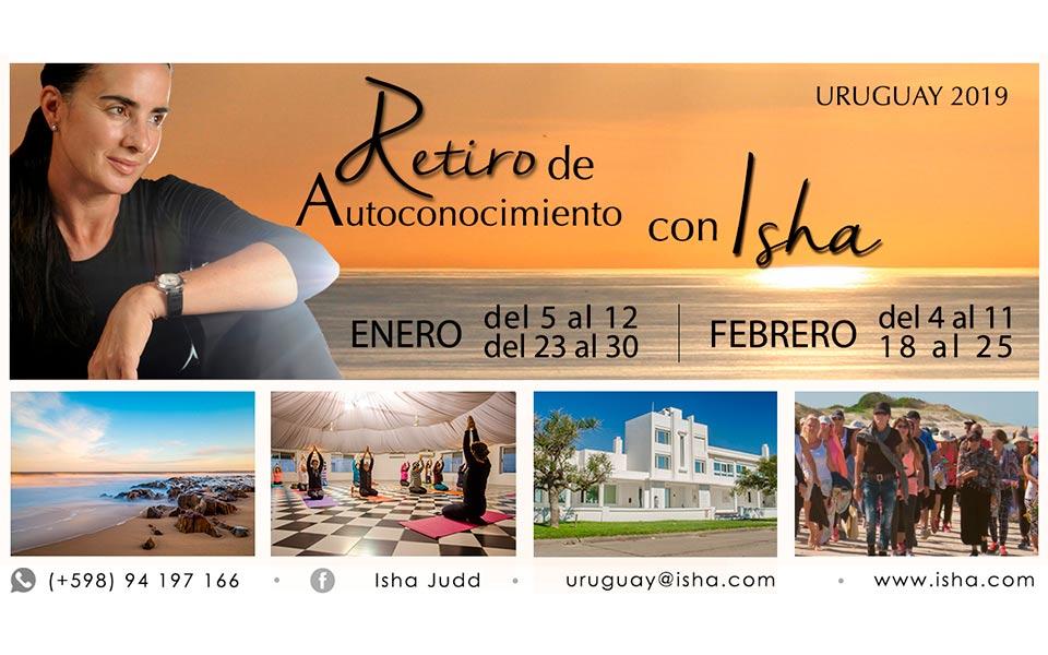 Retiros de verano con Isha en uruguay