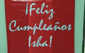Isha – Celebrando cumpleanos Isha Chile 1