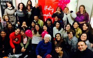 Isha – Celebrando cumpleanos Isha Chile 5