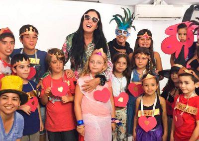 Isha - Niños asistentes al retiro