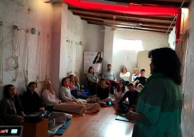 Isha - Taller Seminario Jornada Practica Rosario Argentina 2