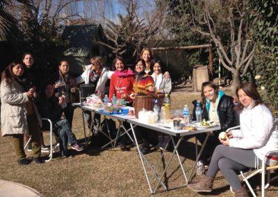 Isha - Actividades con estudiantes Isha