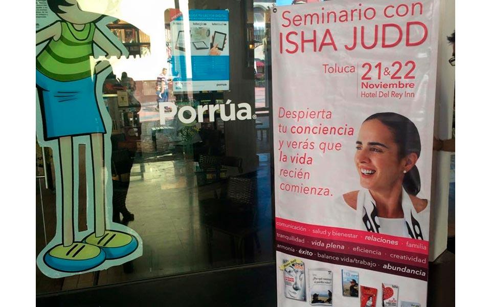 """Isha por primera vez en Toluca: """"Despierta tu conciencia y verás que la vida recién comienza"""""""