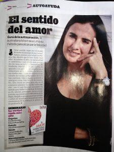 Isha Perú entrevista sentido del amor