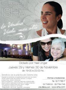 Isha – yael unger seminario en Chile