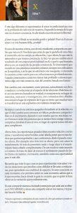 Isha en la revista uno argentina 1