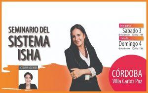 Isha – Seminario Argentina Facilitadora Mariana