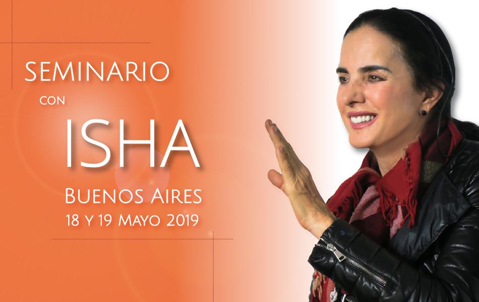 Seminario con Isha en Bs As – 18 y 19 de Mayo