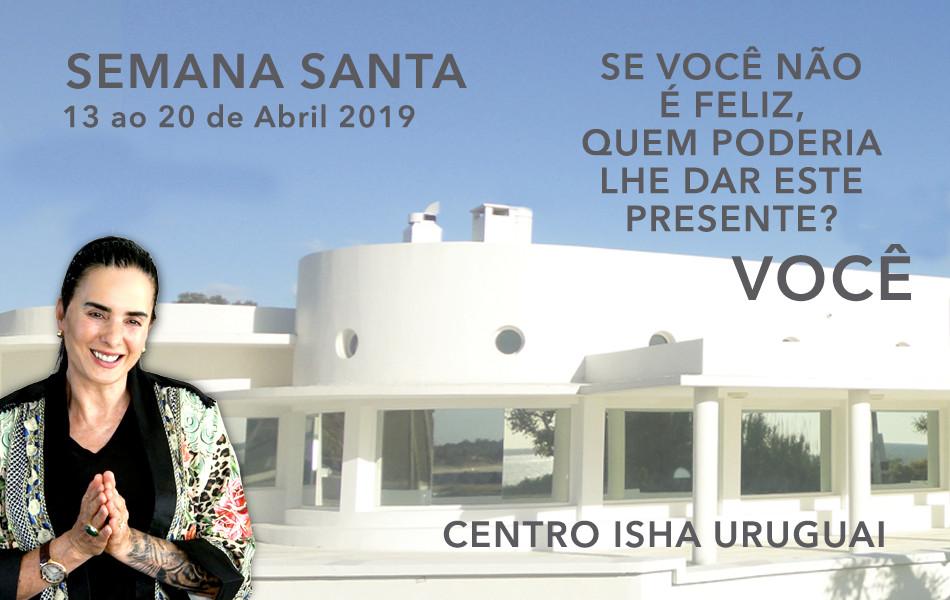 Retiro de Semana Santa com Isha no Centro Isha Uruguai