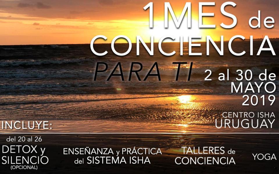 Un mes de conciencia para ti – Con maestros del Sistema Isha en Uruguay