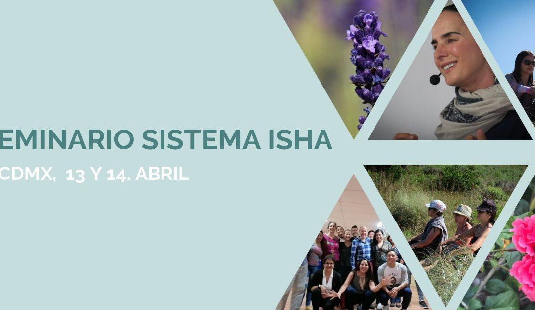 Seminario en CDMX – 13 y 14 de abril con maestros del Sistema Isha